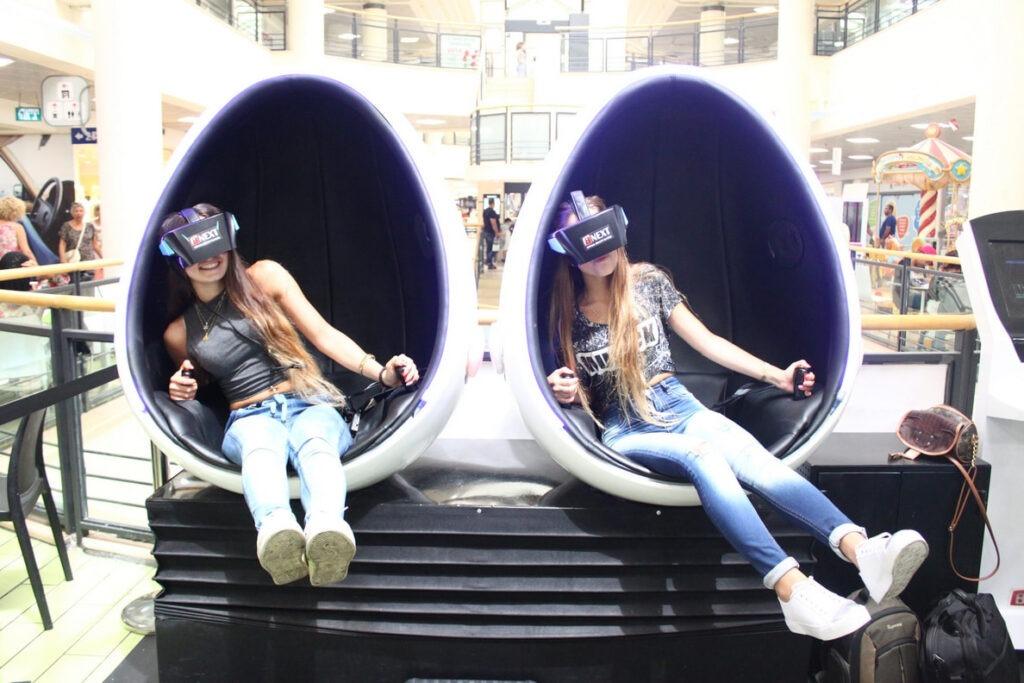 סימולטור VR מתקדם