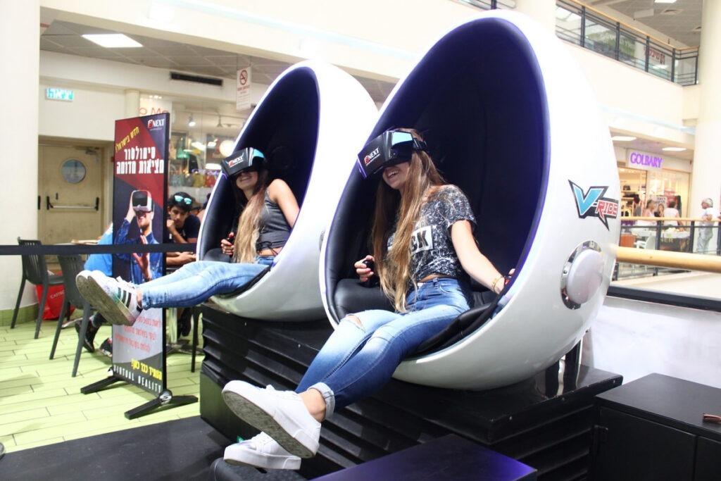 מתקן מציאות מדומה (VR) לכל אירוע