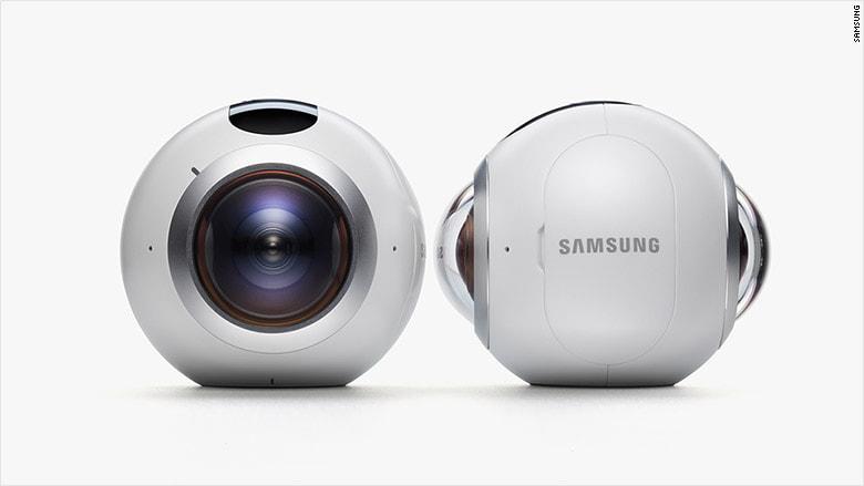 מודיעין המצלמה של Samsung Gear 360 VR נגמרה במלאי | אטרקציית VR לאירועים VW-29