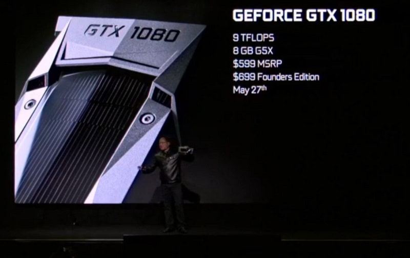 תאריכי השחרור והמחירים של geforce gtx 1080