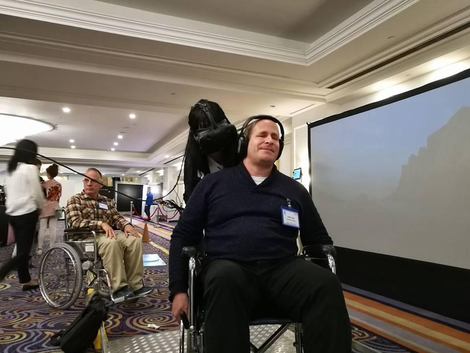שימוש בטכנולוגיות מציאות מדומה בכנס אגודת הנכים