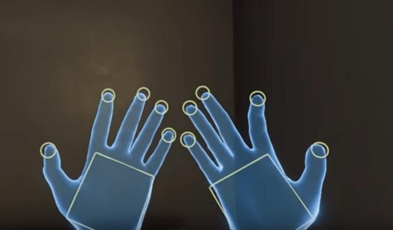 בקרי תנועת אצבעות למציאות מדומה של VALVE